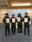4種目総合で入賞した桑原、熊谷、富田、高橋.JPG